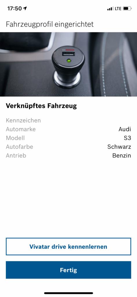 Bosch Vivatar App