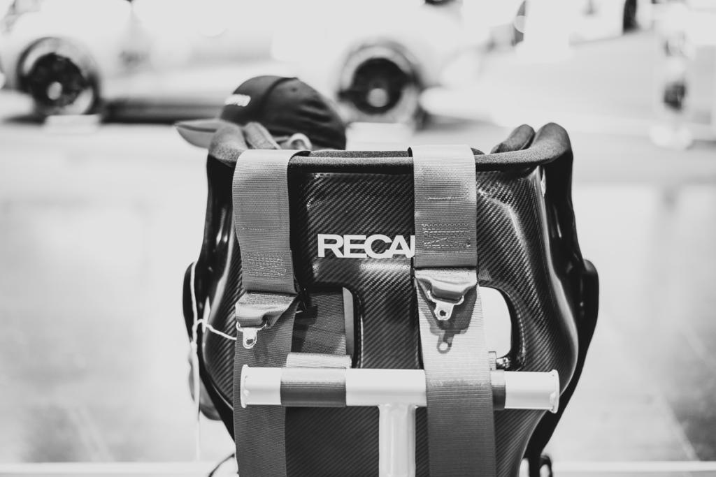 Recaro Sitz auf der Essen Motor Show 2019