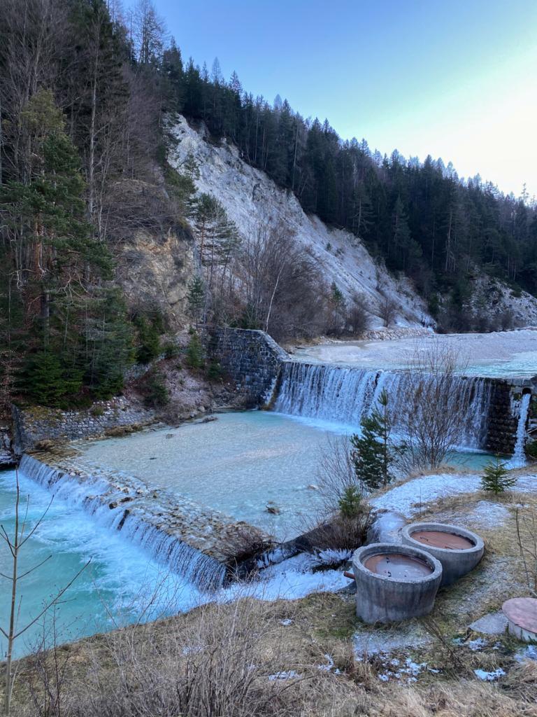 Auf dem Weg zum Vršič-Pass